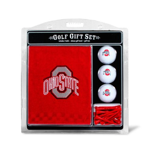 Team Golf Ohio State Buckeyes Embroidered Towel Gift Set