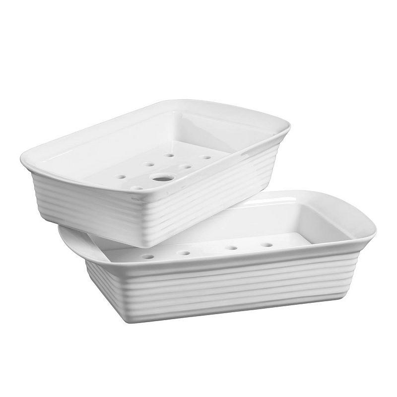 Denmark Ceramic 2-pk. Loaf Pans