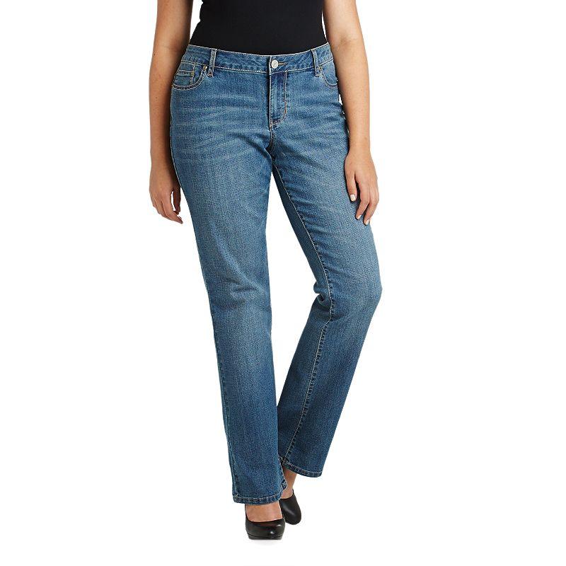 Juniors' Plus Size SO® Aquarius Bootcut Jeans