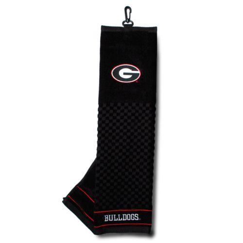 Team Golf Georgia Bulldogs Embroidered Towel