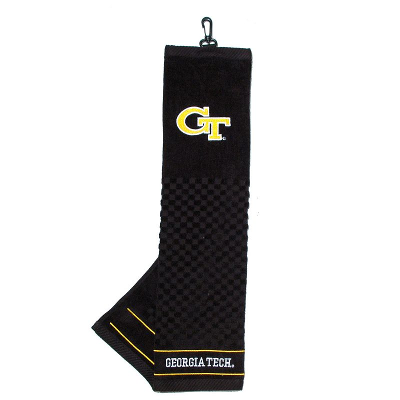 Team Golf Georgia Tech Yellow Jackets Embroidered Towel