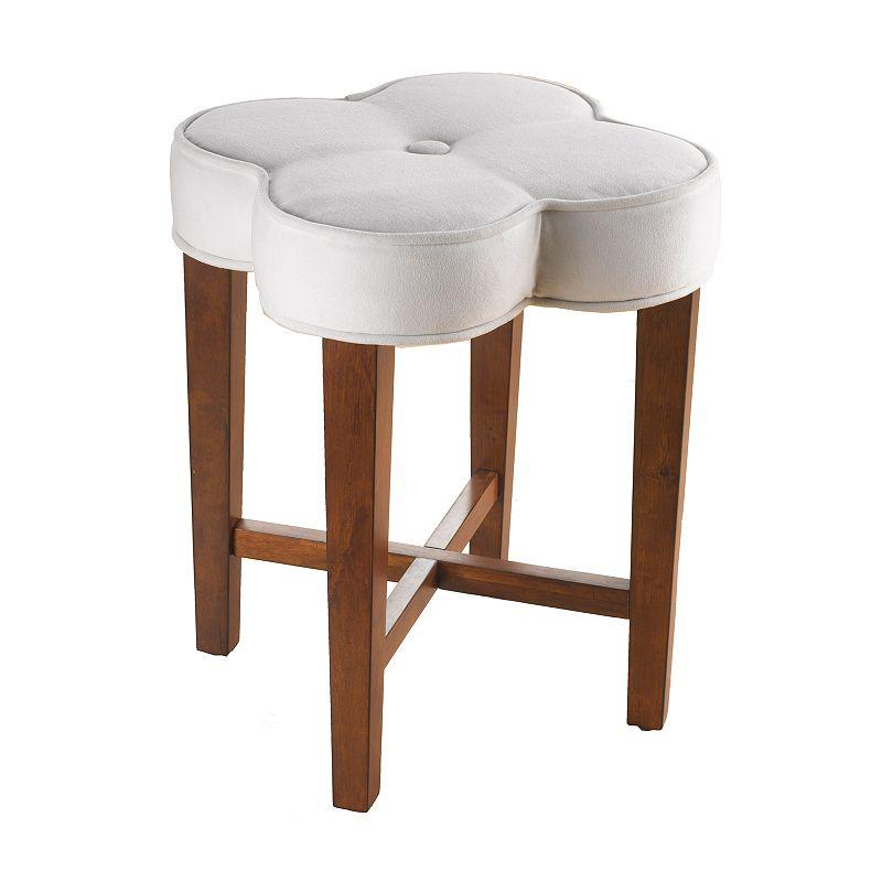 Hillsdale Furniture Clover Vanity Stool