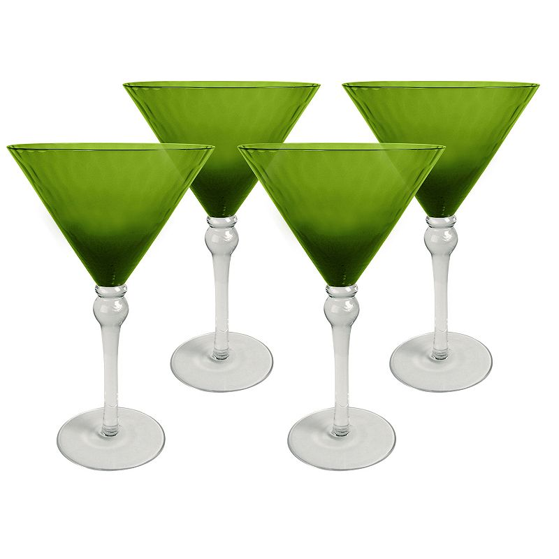 Artland Pebbles 4-pc. Martini Glass Set