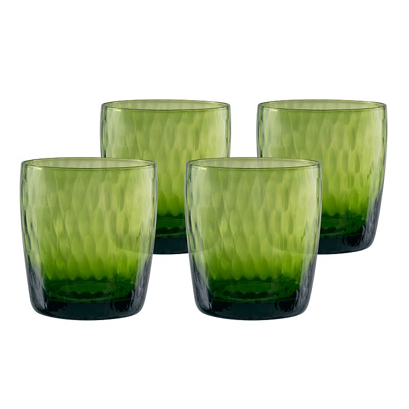 Artland Pebbles 4-pc. Double Old-Fashioned Glass Set
