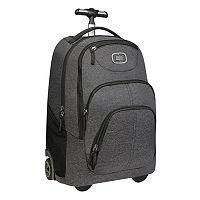 OGIO Phantom Black Orchid Wheeled Backpack