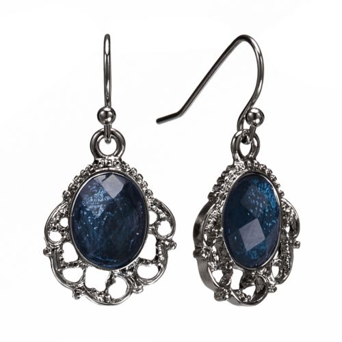1928 Filigree Drop Earrings