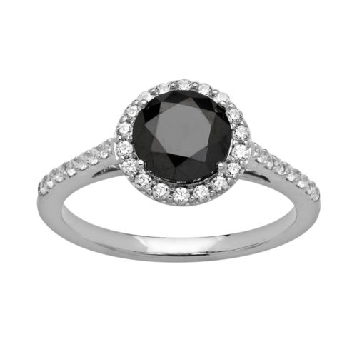 Emotions Sterling Silver Frame Ring - Made with Swarovski Zirconia