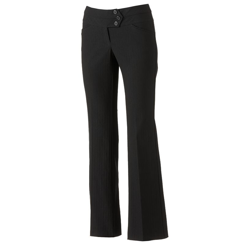 Juniors' Joe B Millenium Bootcut Dress Pants