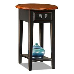 Leick Furniture Oval End Table by