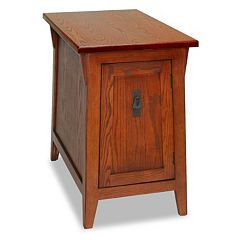 Leick Furniture Mission Cabinet End Table by