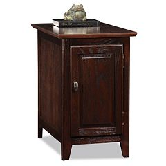 Leick Furniture Cabinet End Table by
