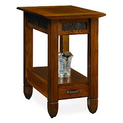 Leick Furniture Traditional Narrow End Table by