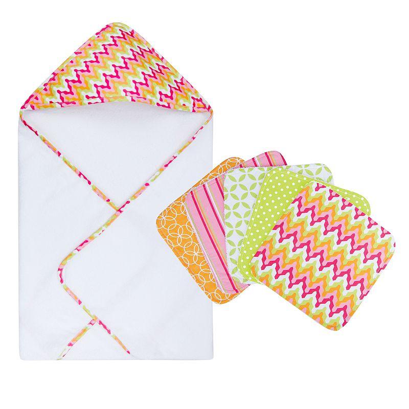 Trend Lab Savannah 6-pc. Hooded Towel Set
