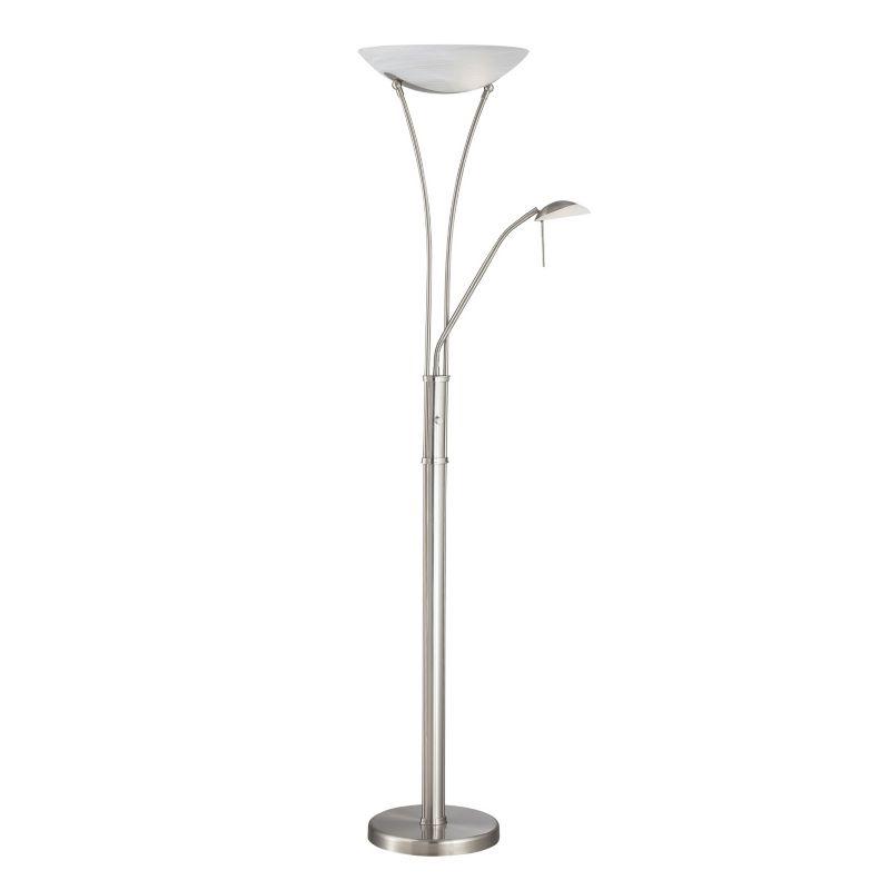 Avington Floor Lamp, Grey thumbnail