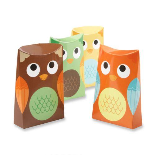 Kate Aspen 24-pk. Whooo's Happy Owl Favor Boxes
