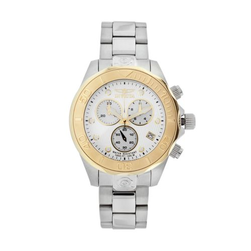 Invicta Watch - Men's Pro Diver Two Tone Stainless Steel Chronograph
