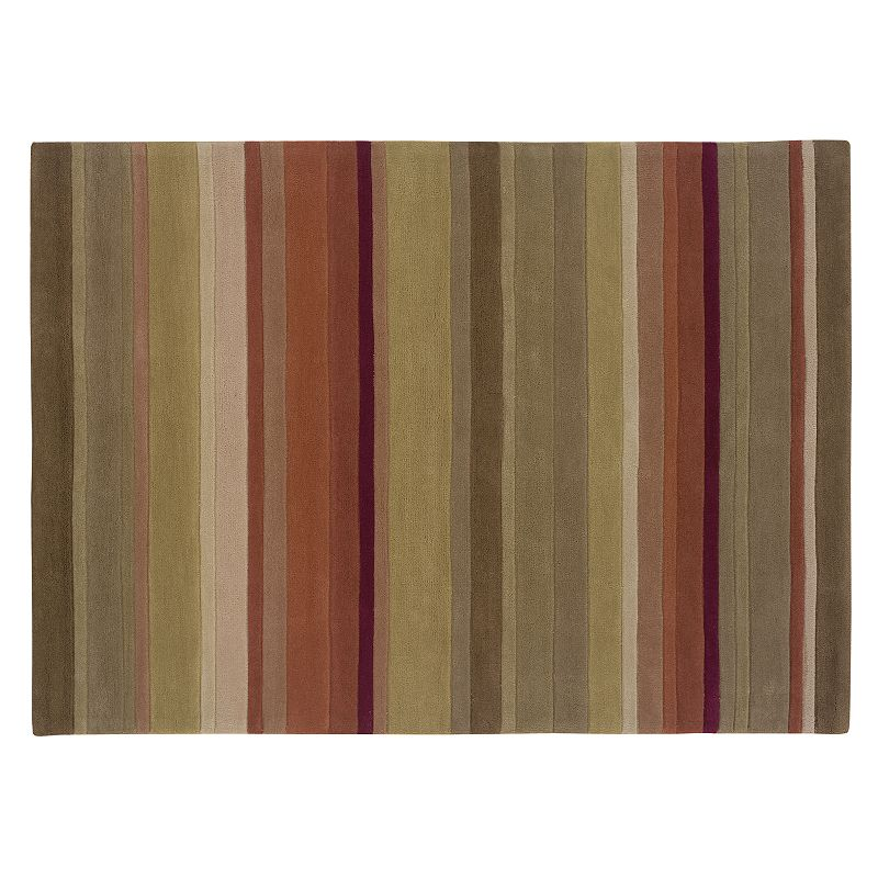 Linon Home Decor Trio Collection Striped Rug - 5' x 7'