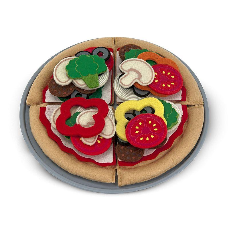 Melissa and Doug Felt Food Pizza Set