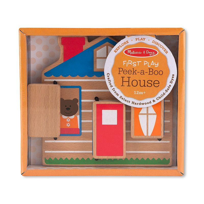 Melissa and Doug First Play Peek-a-Boo House