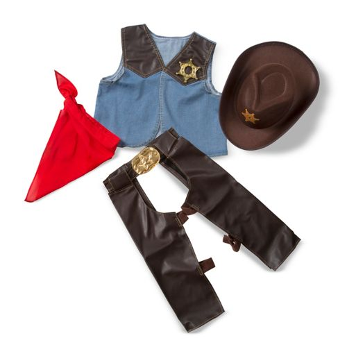 Melissa and Doug Cowboy Role Play Costume