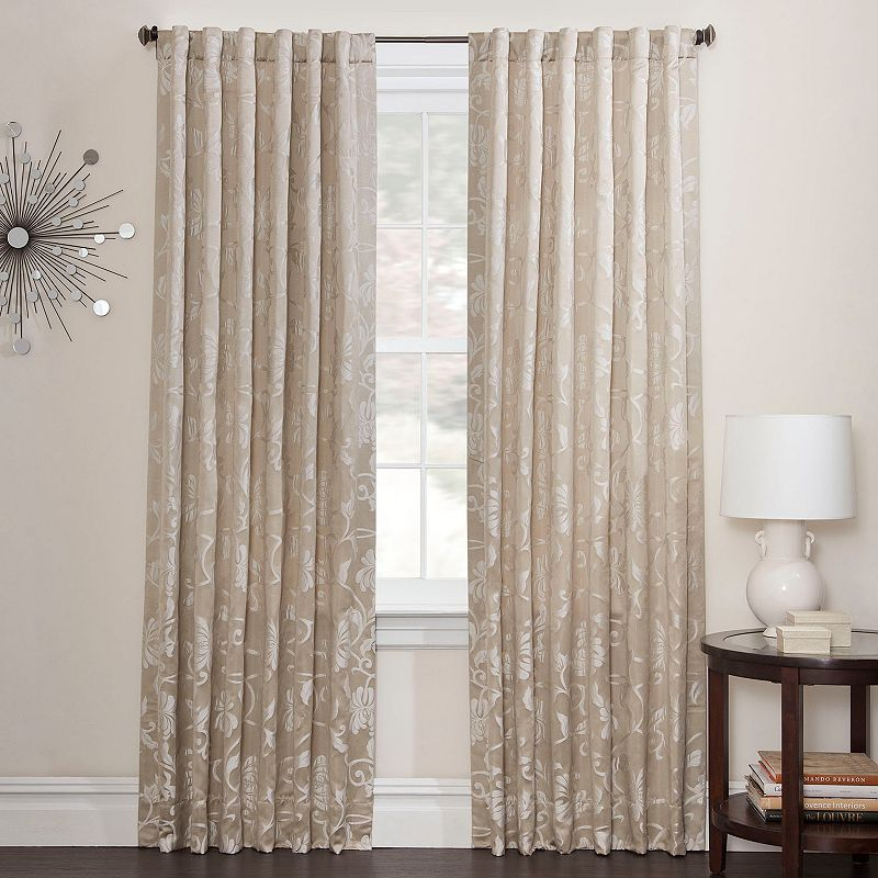 Kohl's features many different patterns and designs of window treatments, from simple solids to fun floral curtains. When looking for drapes that help you save on energy costs, our complete assortment of lined curtains and energy-efficient curtains fit the bill.