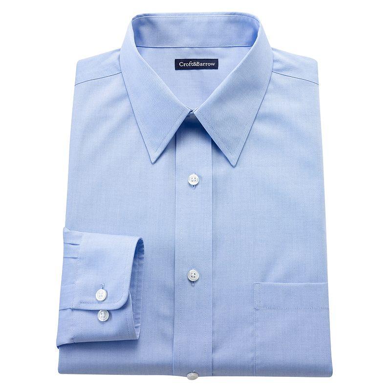 Black light blue shirt kohl 39 s for Tony collar dress shirt