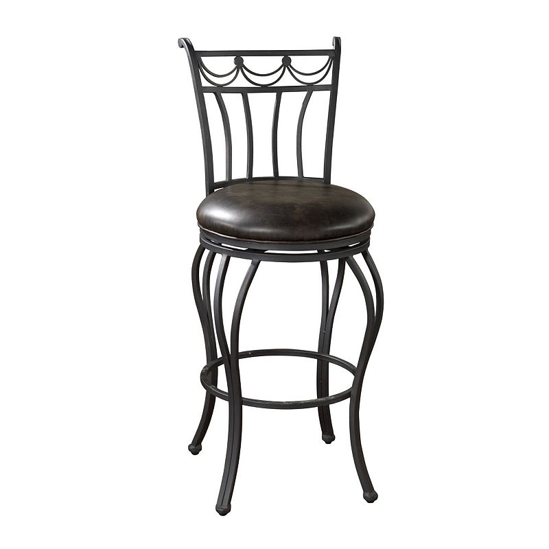 American Heritage Billiards Abella Swivel Counter Stool