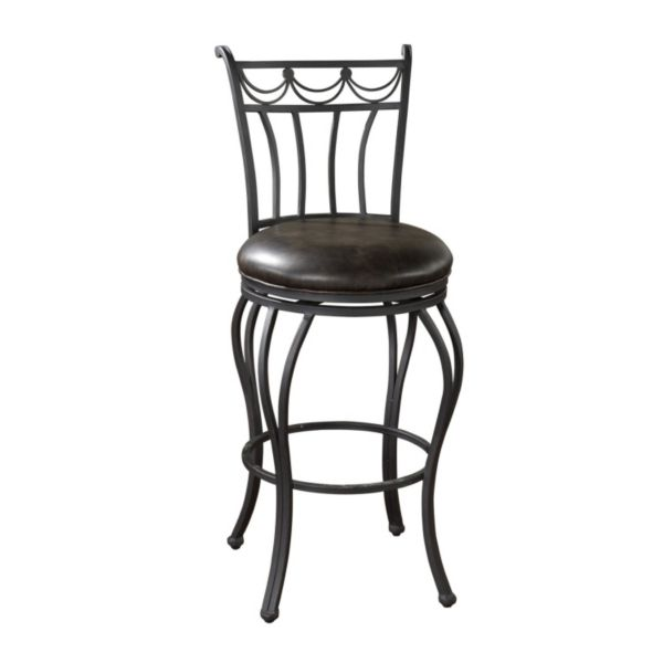 American Heritage Billiards Abella Swivel Bar Stool