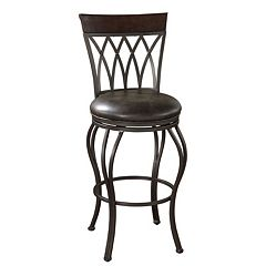 American Heritage Billiards Palermo Swivel Bar Stool by