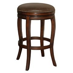 American Heritage Billiards Wilmington Swivel Bar Stool by