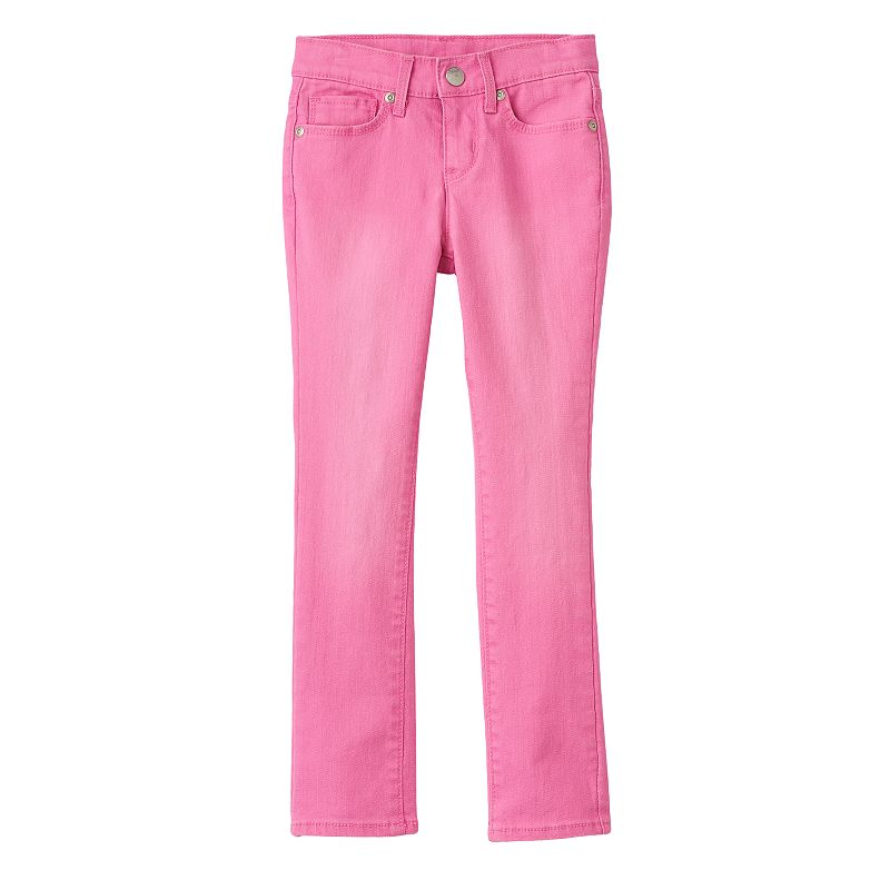 Girls 4-7 SONOMA Goods for Life™ Glitter Skinny Jeans