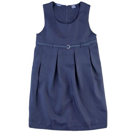 Girls 7-16 Chaps Pleated School Uniform Jumper