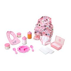 Melissa & Doug Doll Accessories Bundle by
