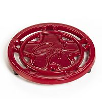 Guy Fieri 8-in. Enameled Cast-Iron Trivet