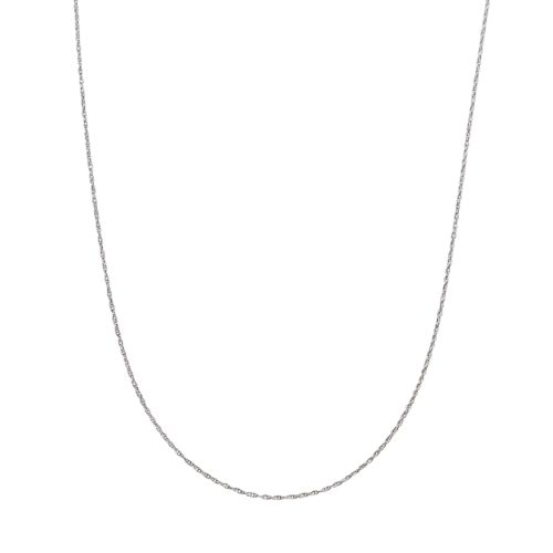 Traditions Sterling Silver Chain Necklace - 18-in.