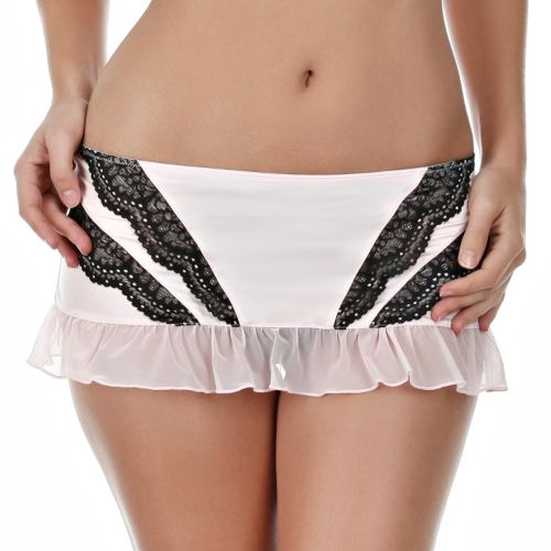 Jezebel Amanda Lace Lingerie Skirt 69004 - Women's