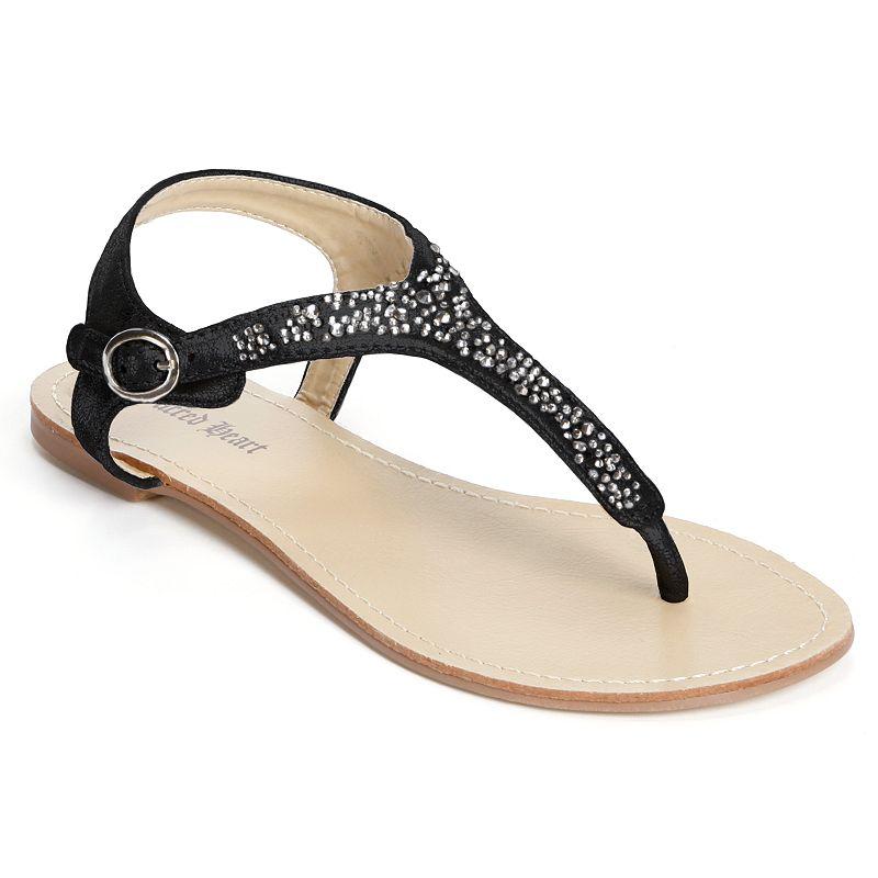 Sacred Heart Bernyce Embellished Thong Sandals - Women
