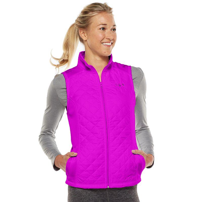 Women's FILA SPORT® Runswift Quilted Fleece-Lined Vest