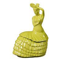 Fiesta Dancing Lady Cookie Jar