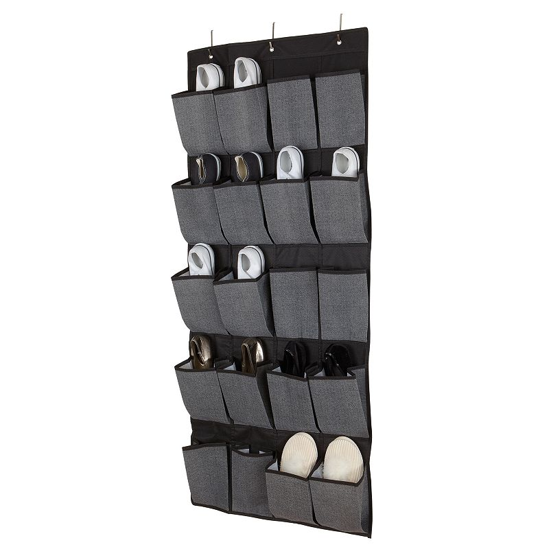 Kennedy Home Collection 20-Pocket Over-The-Door Shoe Organizer