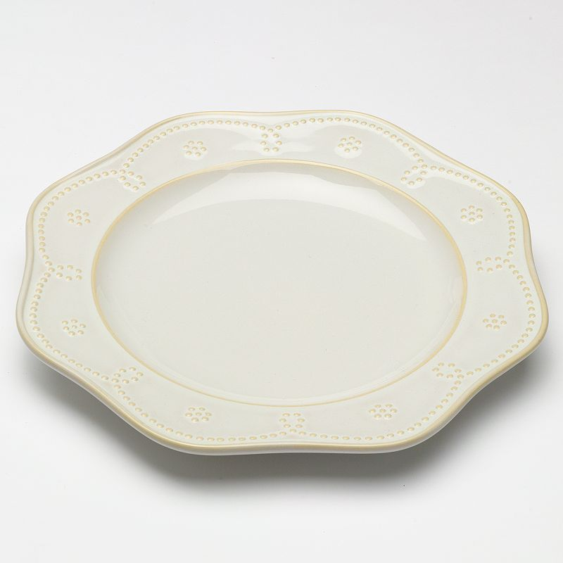 Food Network™ Fontinella Beaded Dinner Plate