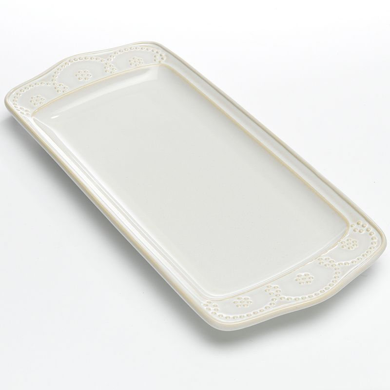 Food Network™ Fontinella Beaded Rectangular Platter