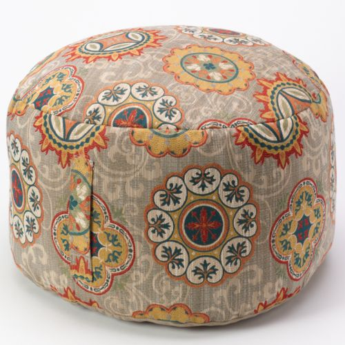 Brentwood Medallion Pouf