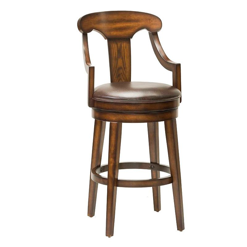 Upton Swivel Bar Stool