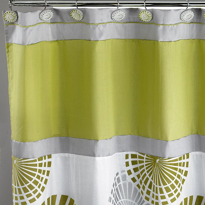 Bonnie Fabric Shower Curtain