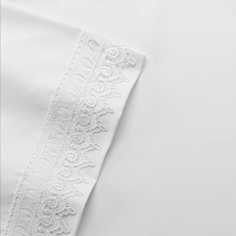 Venice Lace Microfiber Sheet Set - Twin