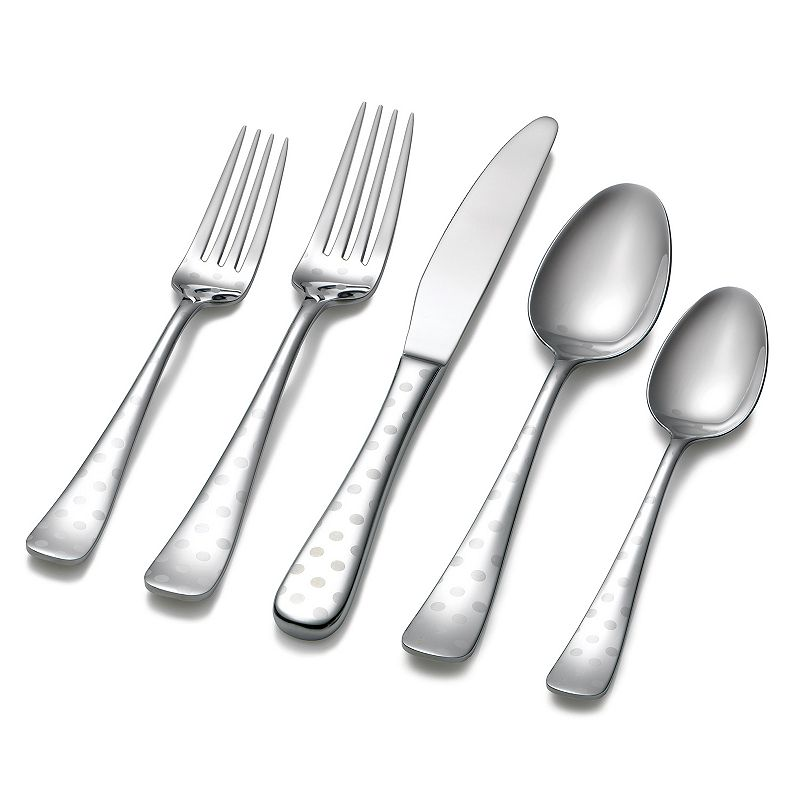 Hampton Forge Dots 45-pc. Flatware Set