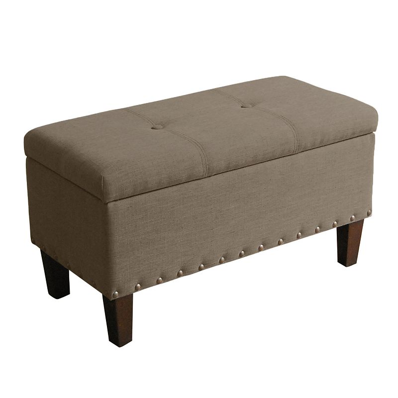 SONOMA Goods for Life™ Madison Fabric Storage Bench Ottoman