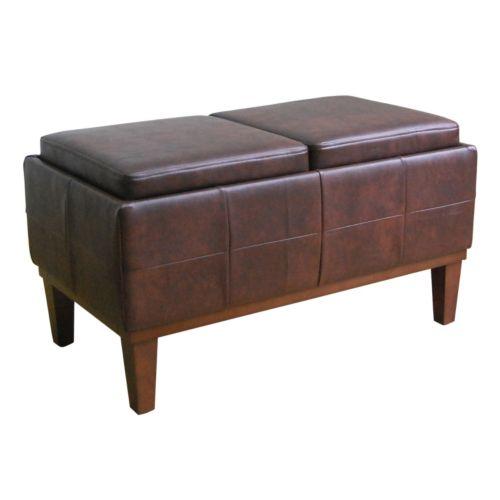 SONOMA life + style® Turner Storage Bench Ottoman