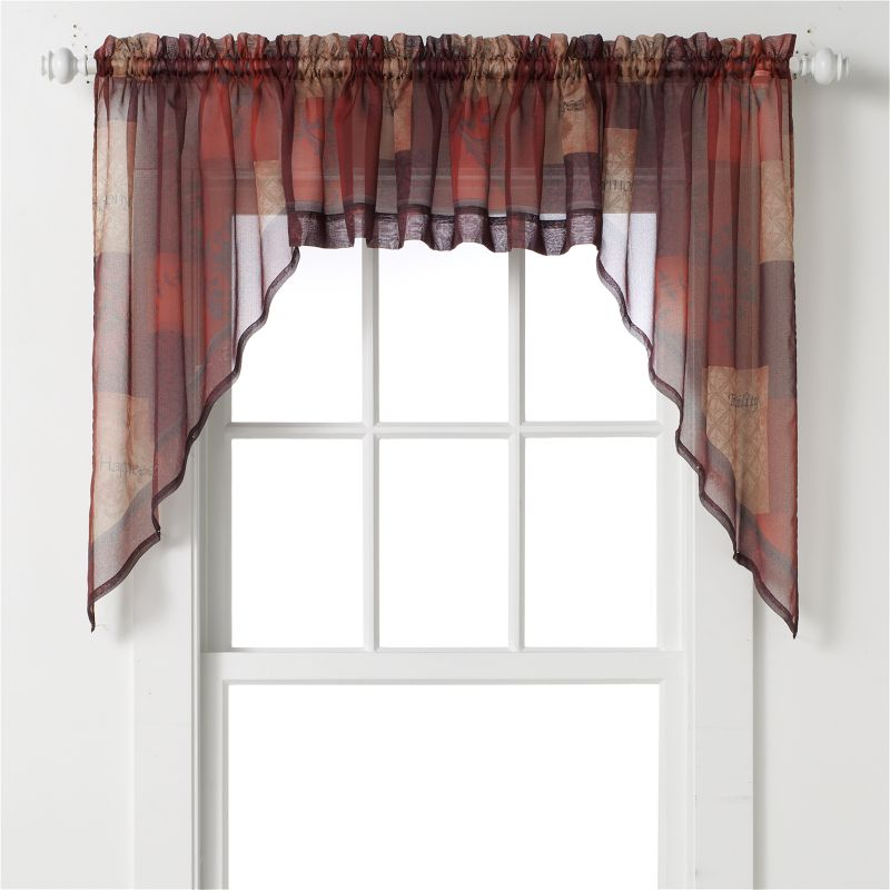 Sheer Swag Window Treatment | Kohl's